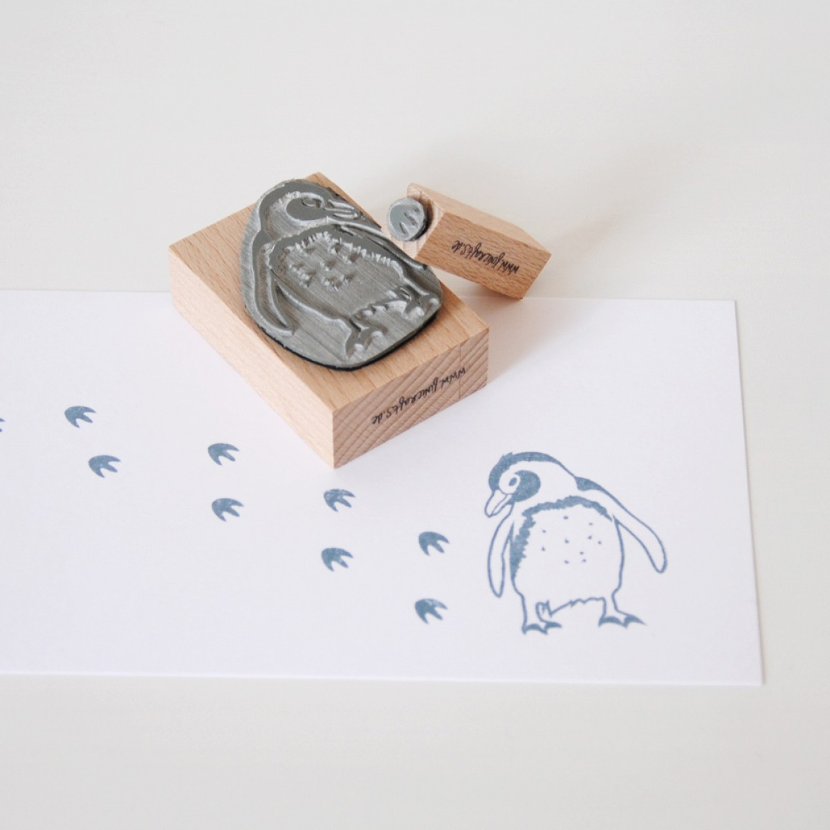 Stempel-Set Pinguin