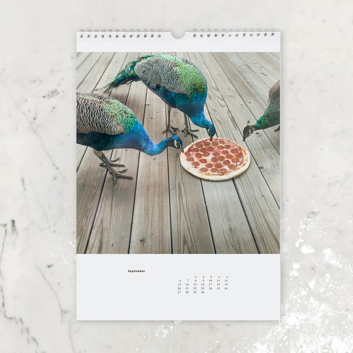 "edition ij ""Pizza in the Wild"" Kalender 2021"