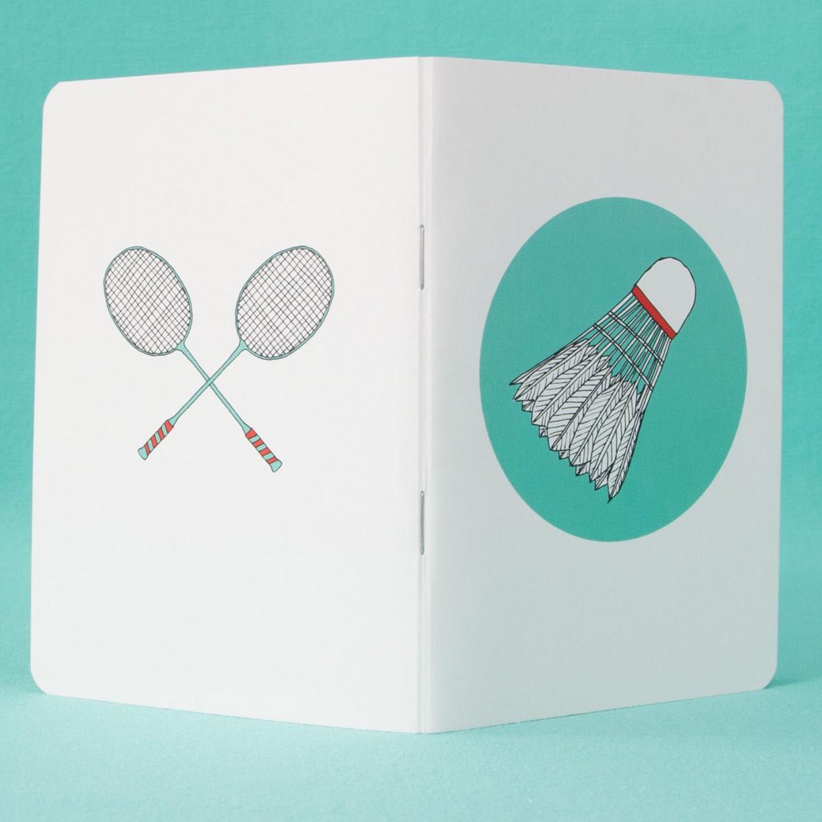 / Notizheft - A6 - Federball