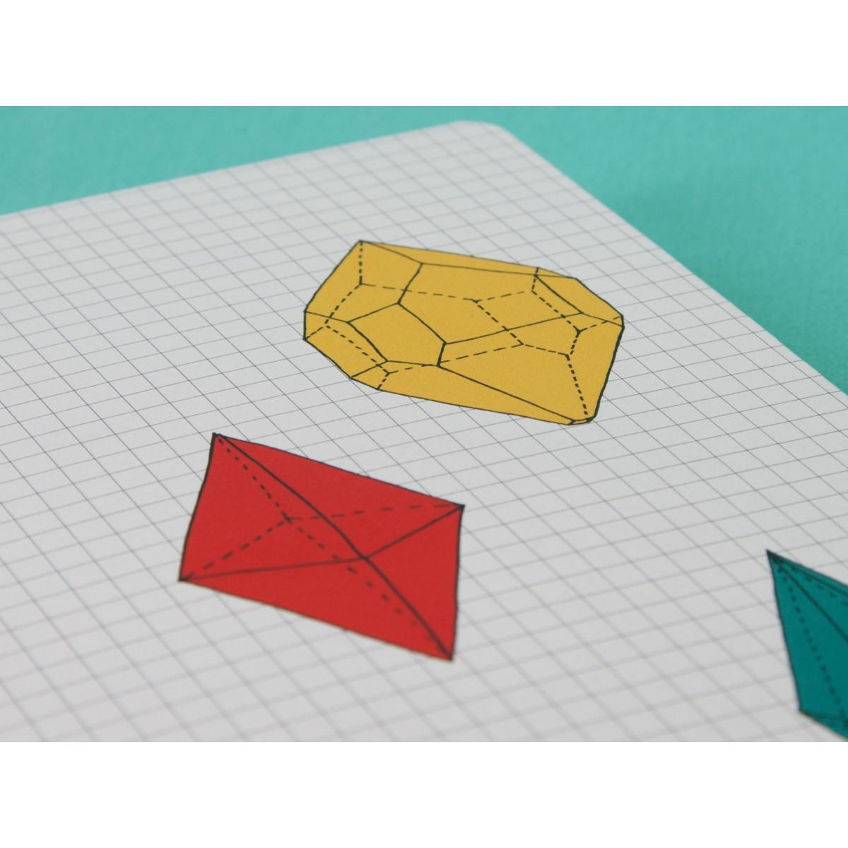 / Notizheft - A5 - Kristall