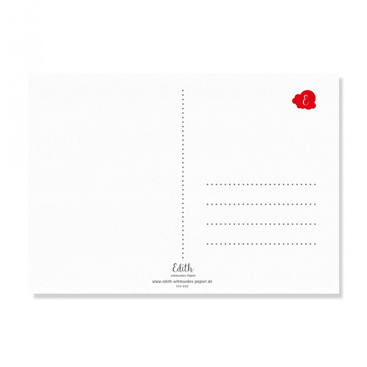 "Edith schmuckes Papier ""Happy Birthday - Postkarten Set""  2 Postkarten"
