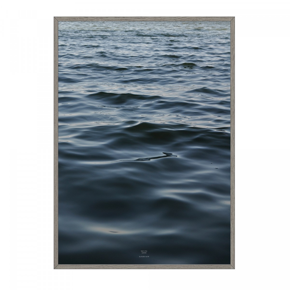 na.hili feet in the WATER - A1 Artprint - Poster