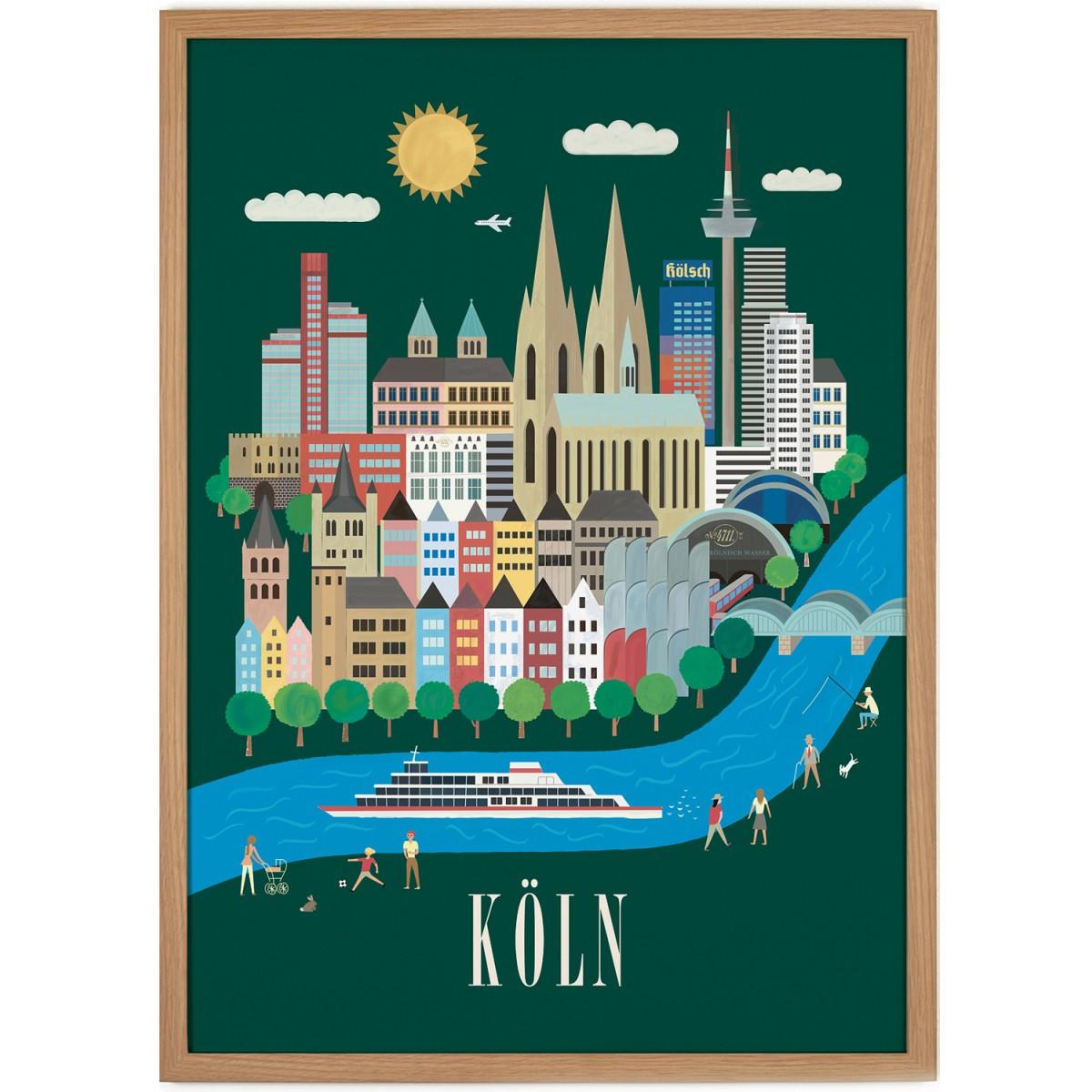 Human Empire Köln Poster (50x70cm)