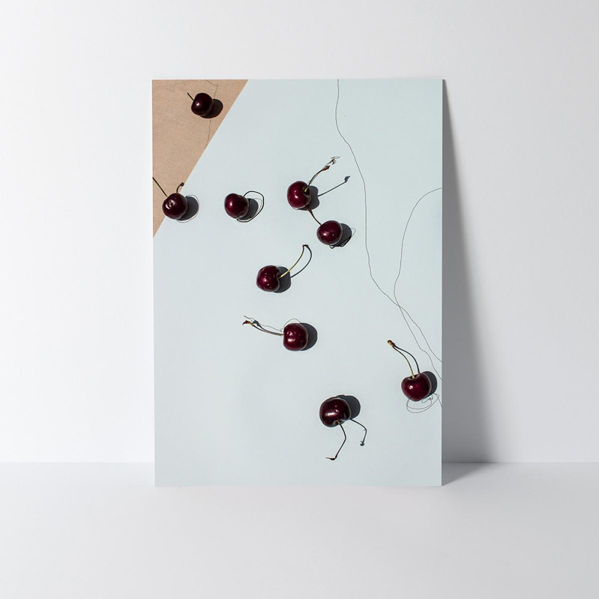 """Since. Poster """"Last days of summer - Kirsche"""" (A3)"""