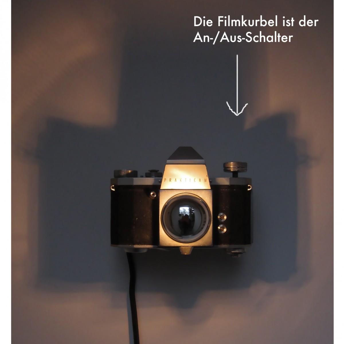 SpiegelreflexLampe Praktica FX