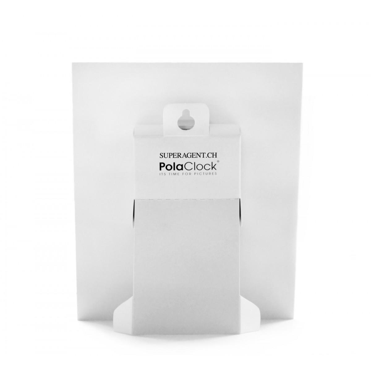 """PolaClock """"ANN #4"""" Wanduhr / Tischuhr im Polaroid-Look by Marc Schumann"""