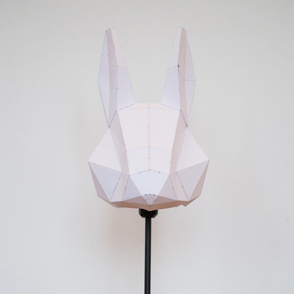 Rabbit Medium - Do It Yourself Papierlampenschirm