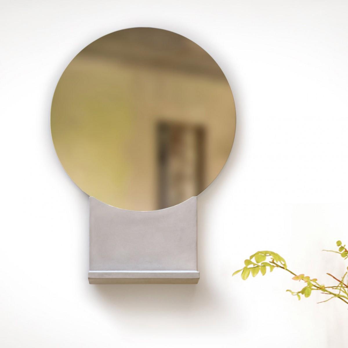 rehform spieglein wandspiegel mit ablage. Black Bedroom Furniture Sets. Home Design Ideas