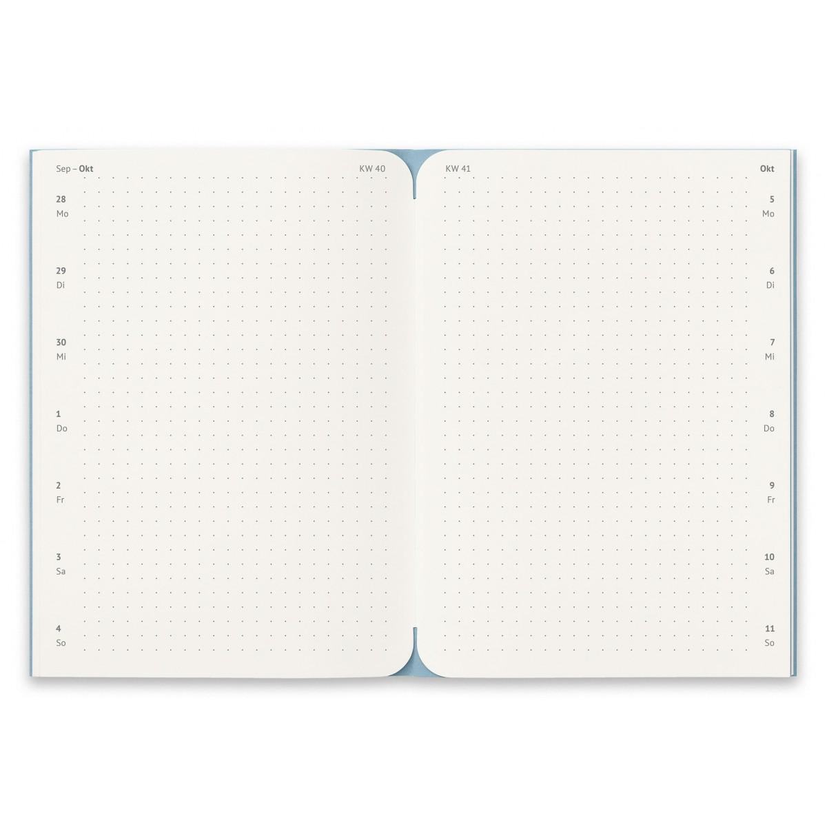 reinheft Notizkalender 2021