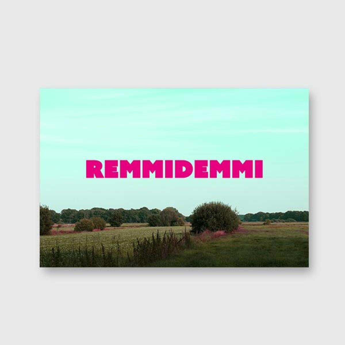 "ZEITLOOPS ""Remmidemmi"", Fineartprint"