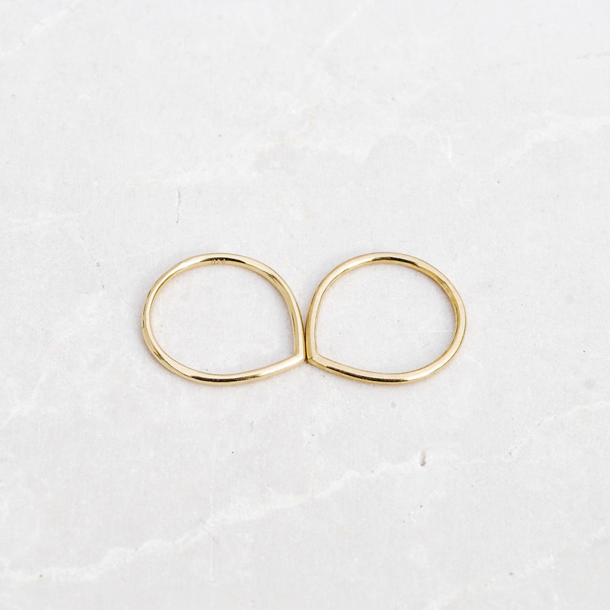 iloveblossom FUN WITH GEOMETRY RING // gold