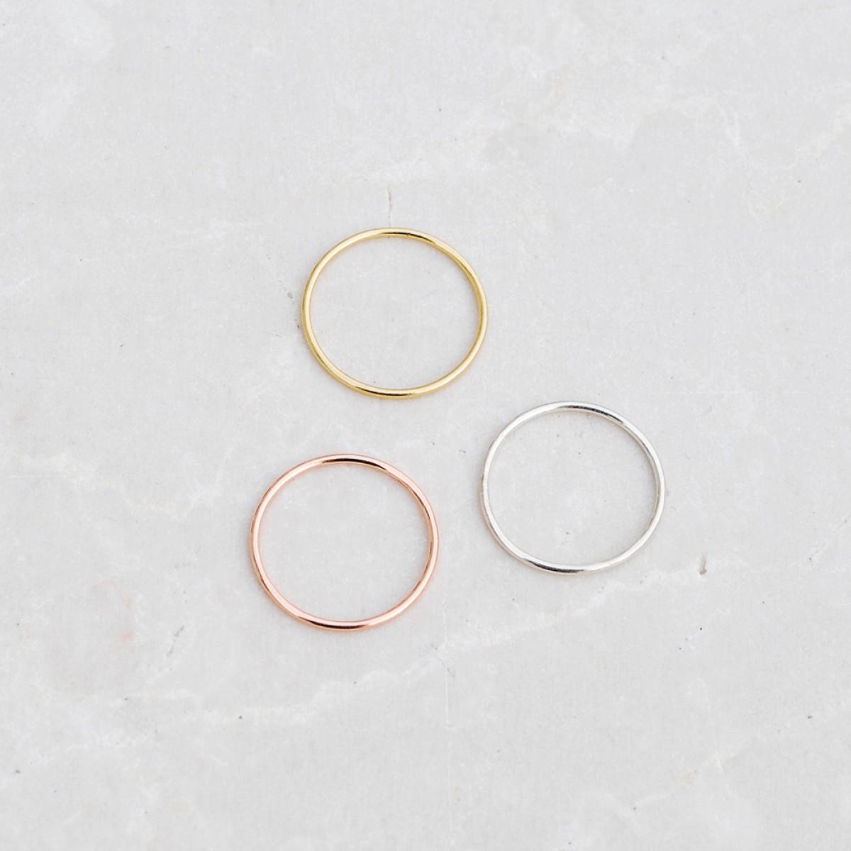 iloveblossom SIMPLE THINGS RING // silver