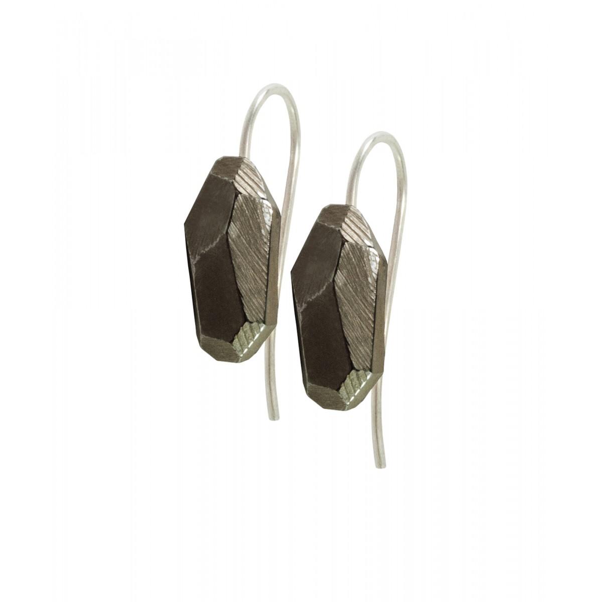 baaj Rocky Earrings Black