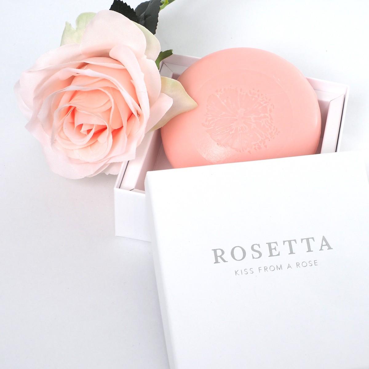 "hinzkunst Seife ""Rosetta - Kiss from a Rose"""