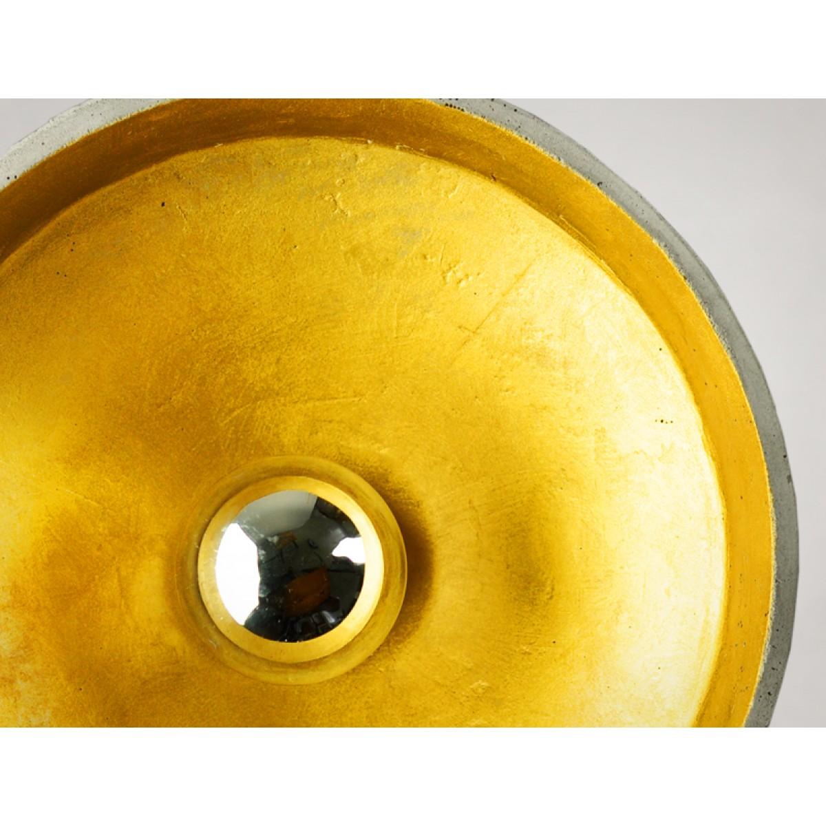 BETON LAMPE GOLD