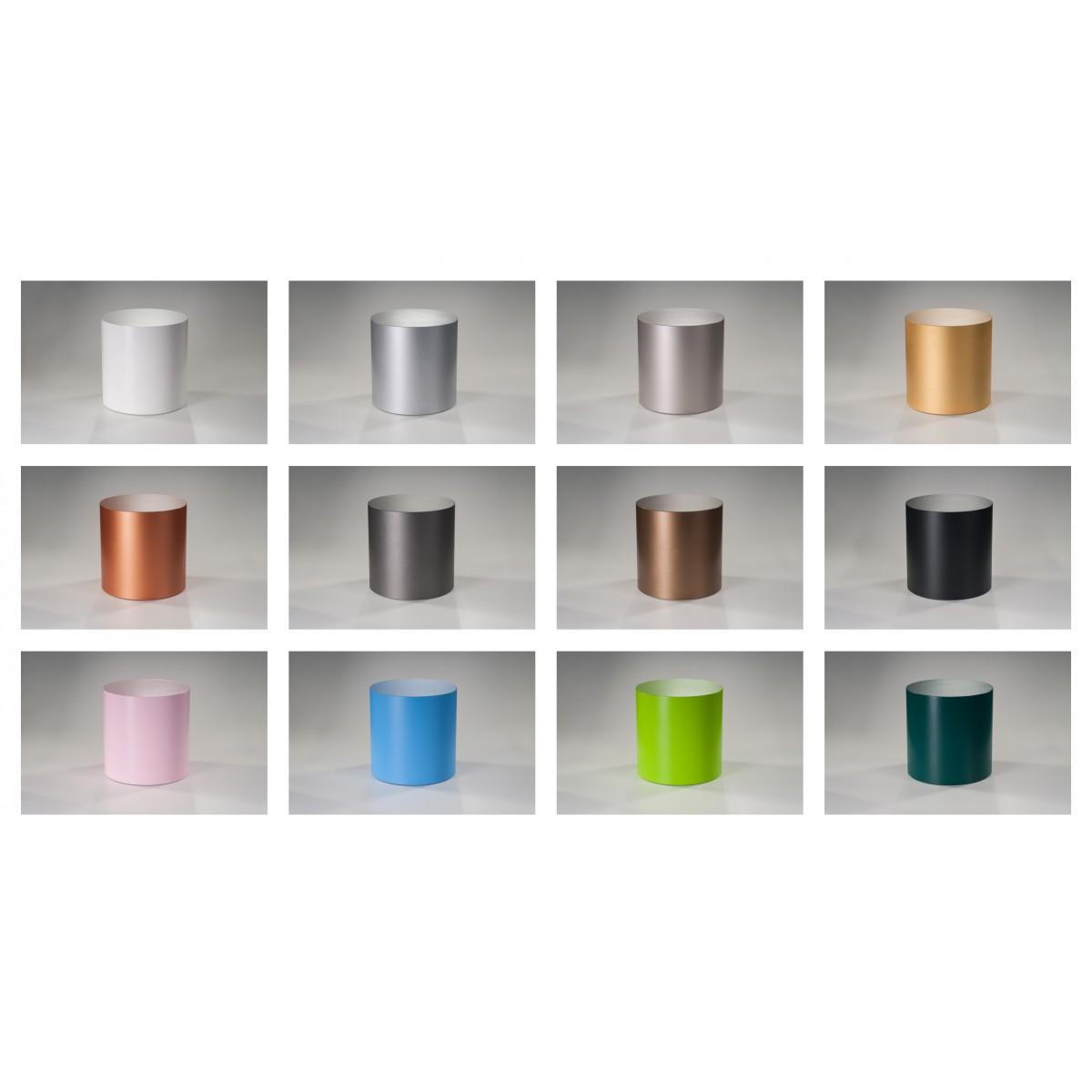 LOOPO, silber - Beistelltisch - Hocker - Möbel