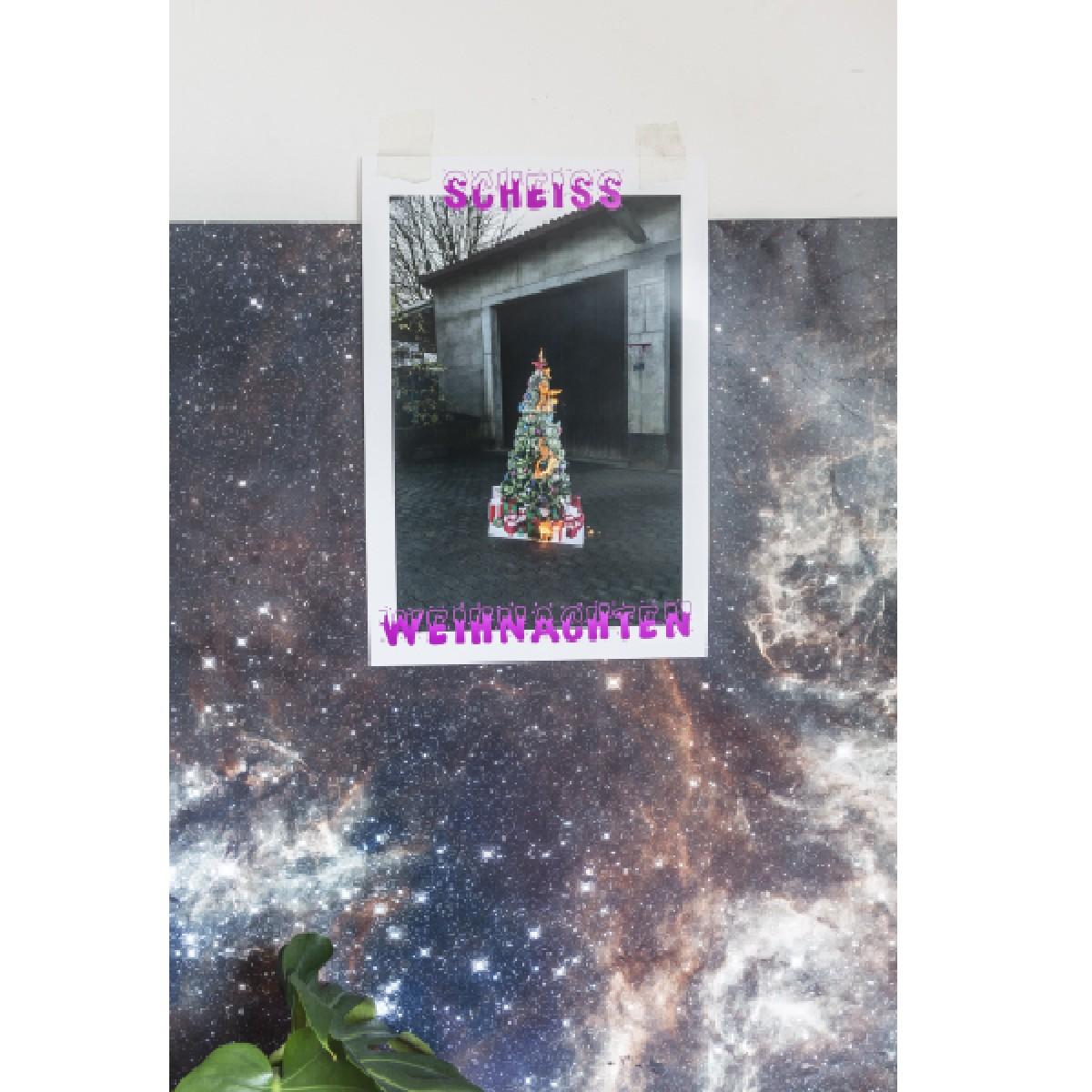 Scheiß Weihnachten Poster  33x48,8cm