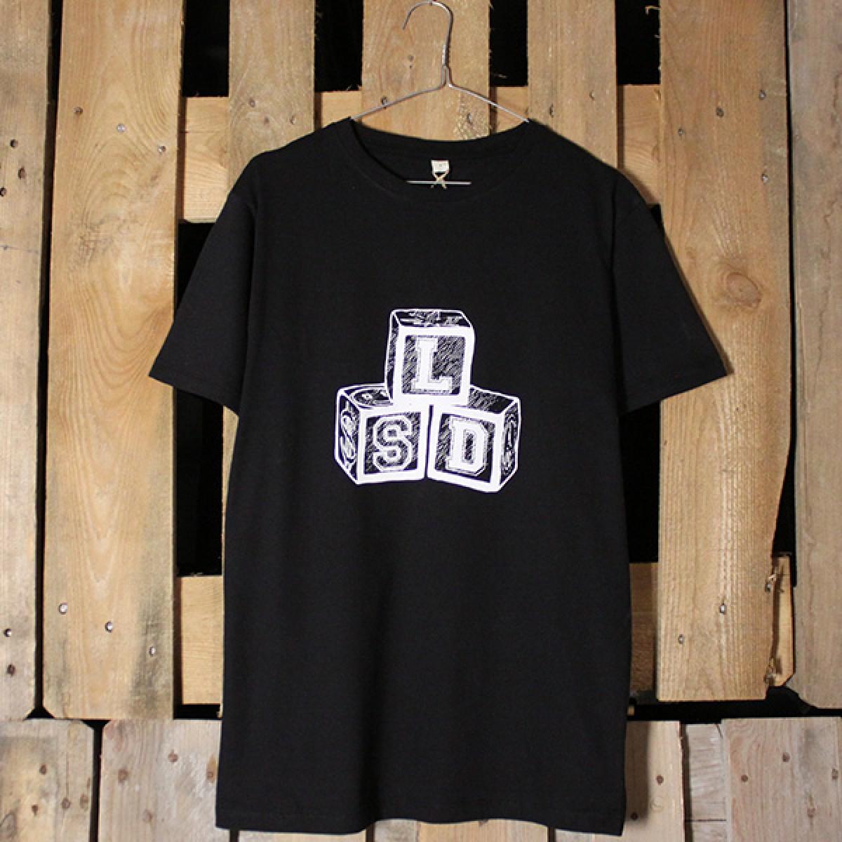 "KINDERGELD ORGANIC Classic T-Shirt ""ALBERT"" (LSD) schwarz"