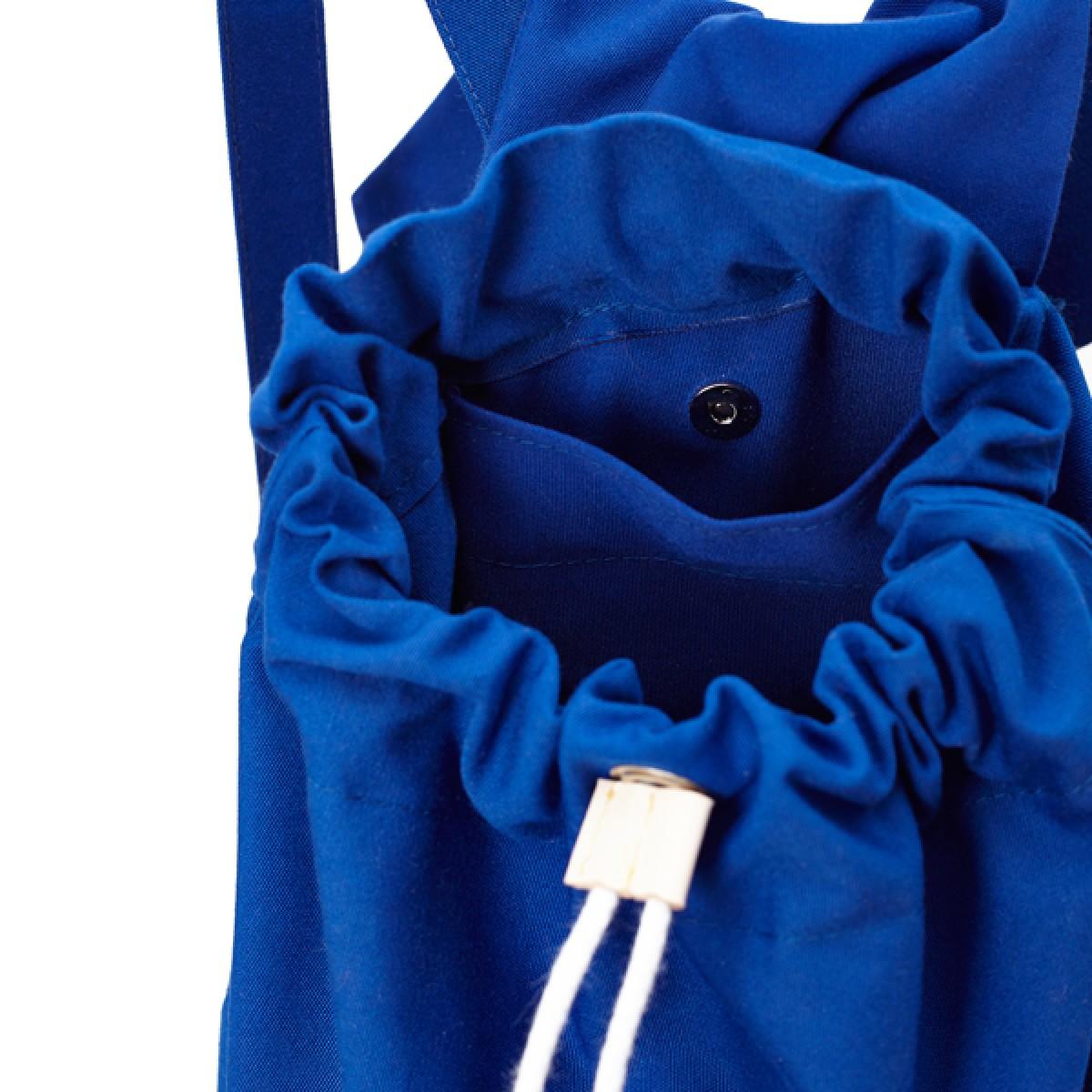 Django Recyclingrucksack aus wiederverwendetem Markisentuch/Leder