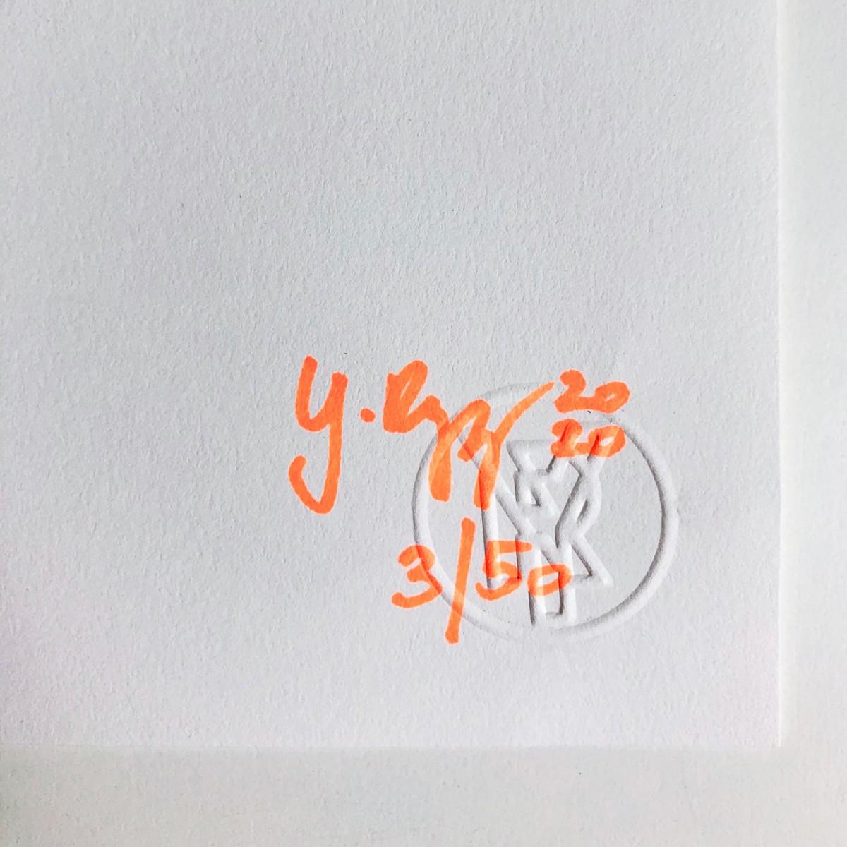 Reingeguckt – YUKY RYANG Risografie, DIN A3