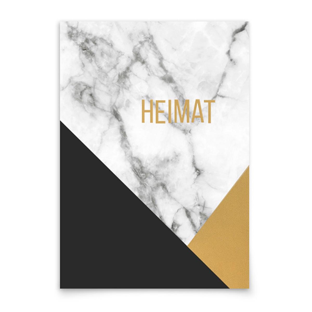 aprilplace // Heimat // Kunstdruck Din A4