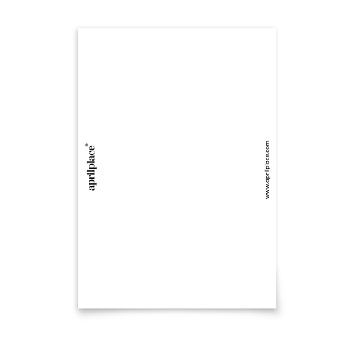 aprilplace // Glanz // Postkarte Din A6