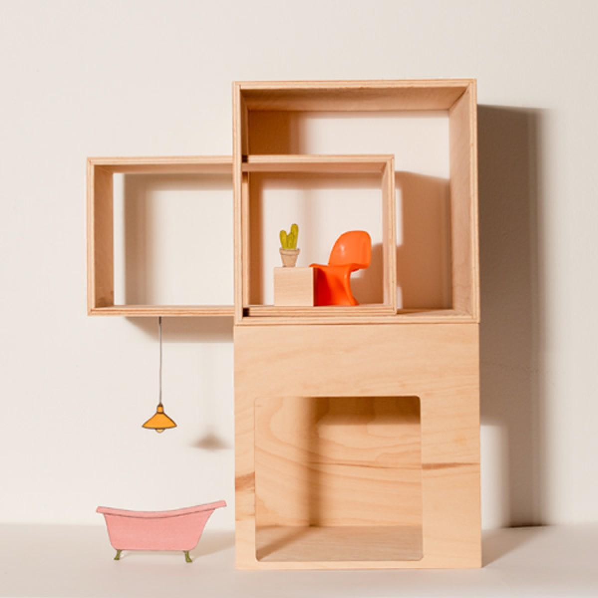 LOOMI - das modulare Puppenhaus von studio jul.s