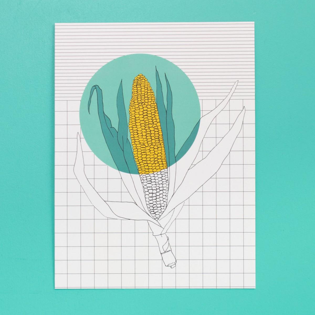 polypodium / Print - Mais - 15 cm x 20 cm - A5