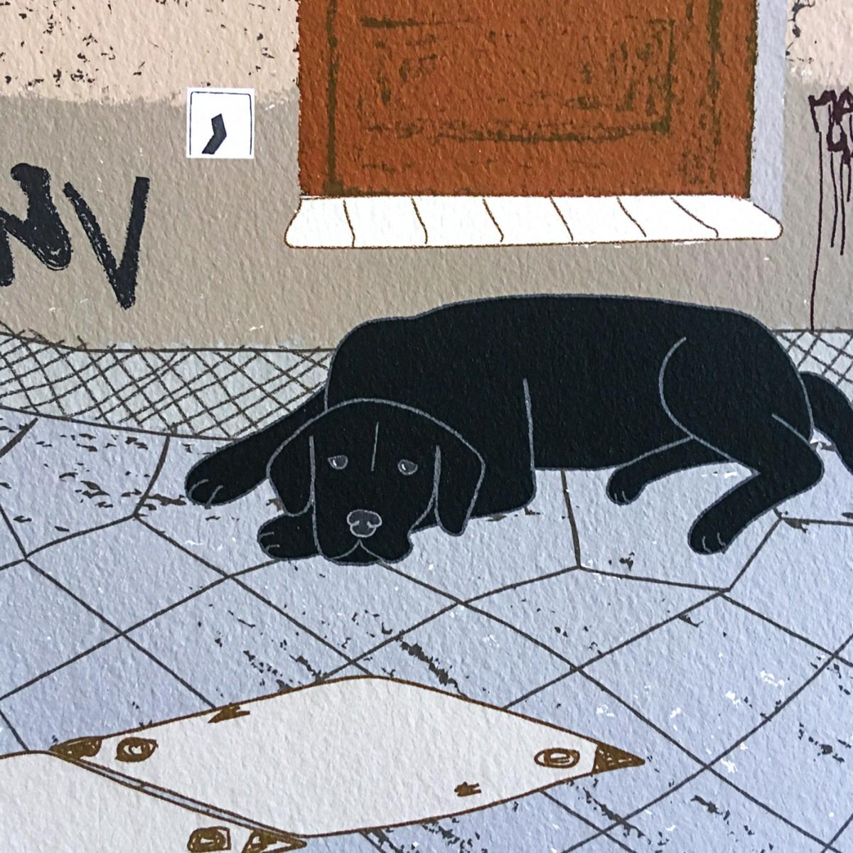 "Neighbour Series ""Neighbour No. 11"" – YUKY RYANG, Giclée-Druck, Format 28 x 28 cm"