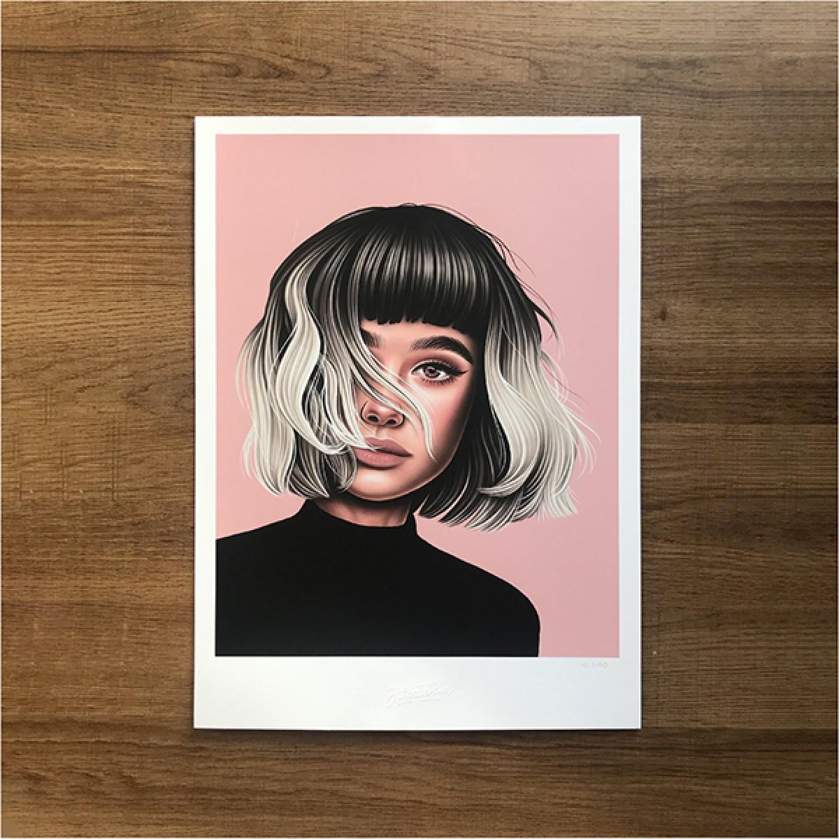Juliana Fischer - Girls Girls Girls - No.1 - Kunstdruck, DIN A3
