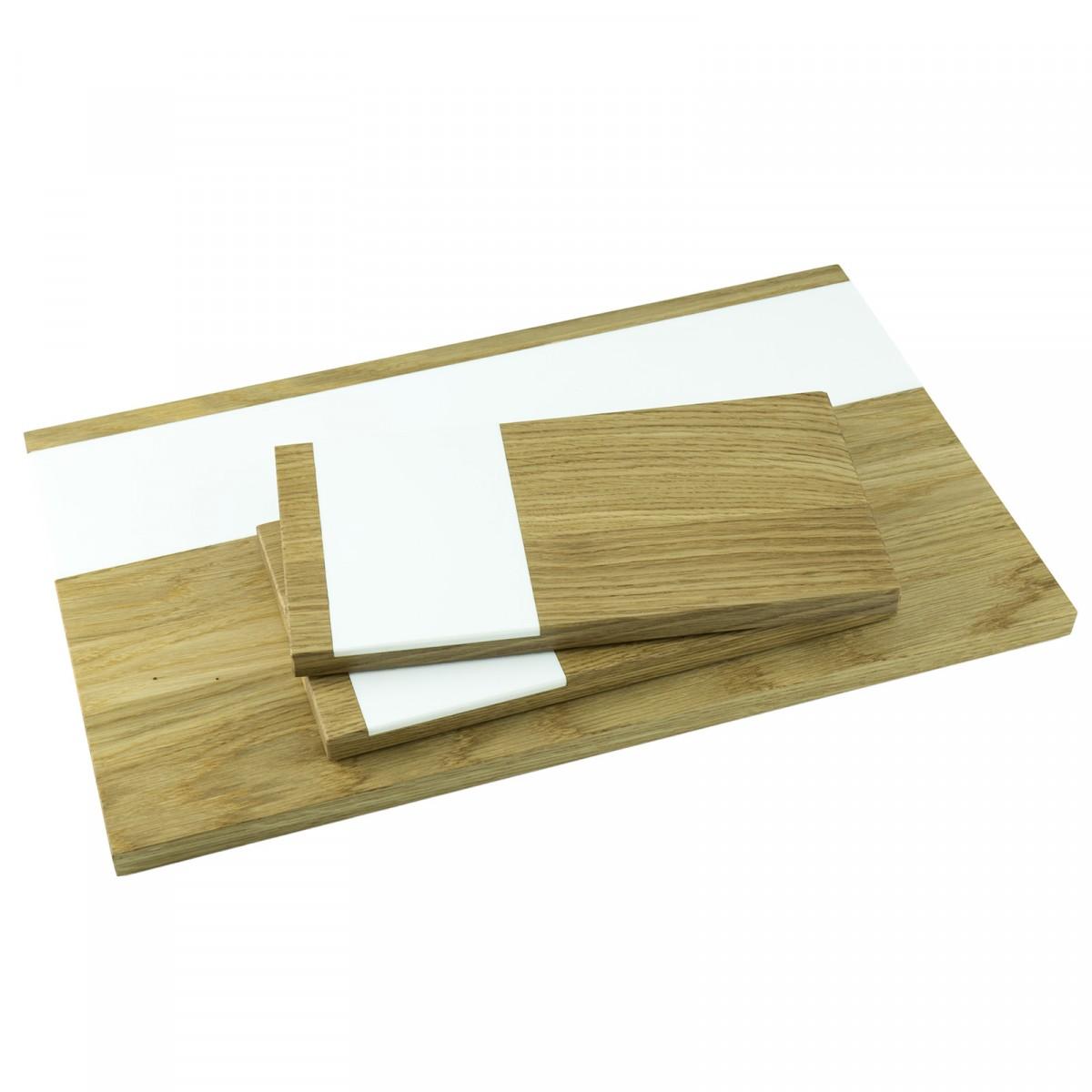 Servierbrett 3er Set groß und klein | Küchenbrett | Holzbutiq
