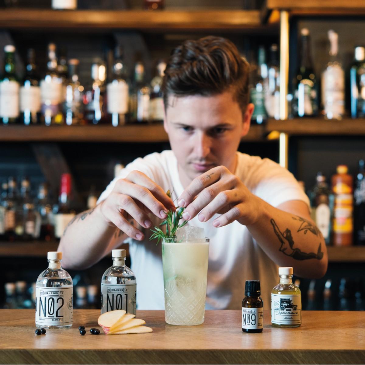 Highclass Cocktail-Kit - Royal Gin Expedition