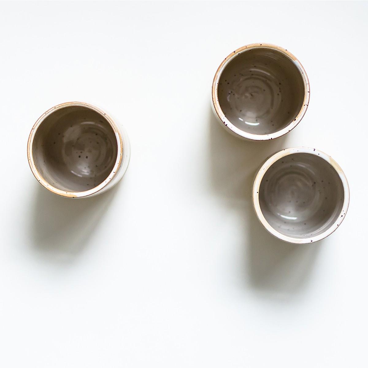 Becher beige // NOTON Keramik