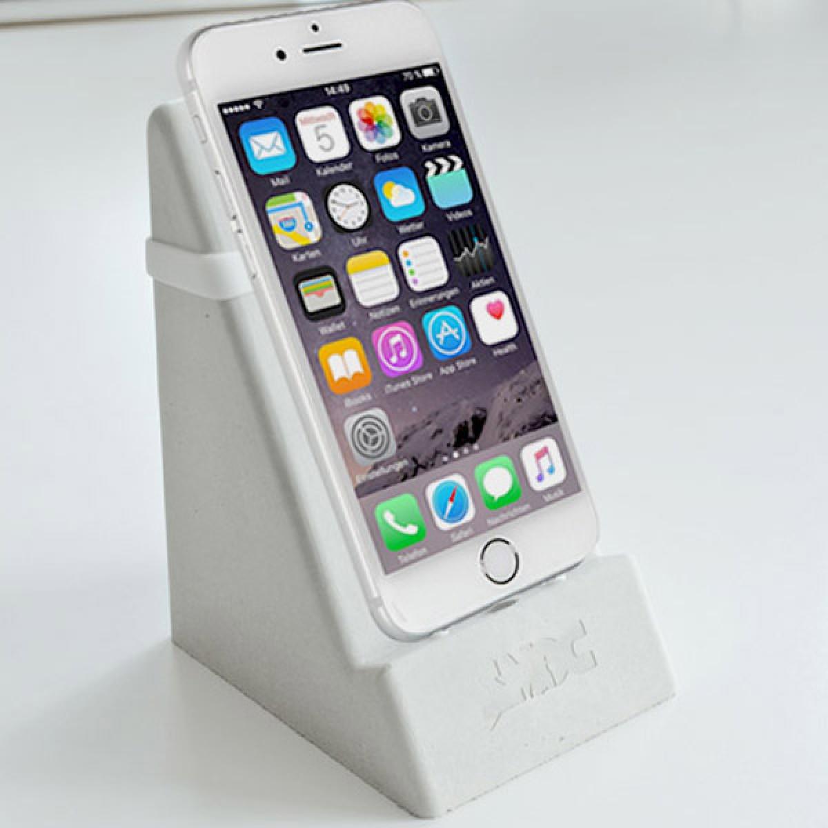 SMOC - Smartphone- und Tablethalter (Smartphonedock) - Dunkelgrau