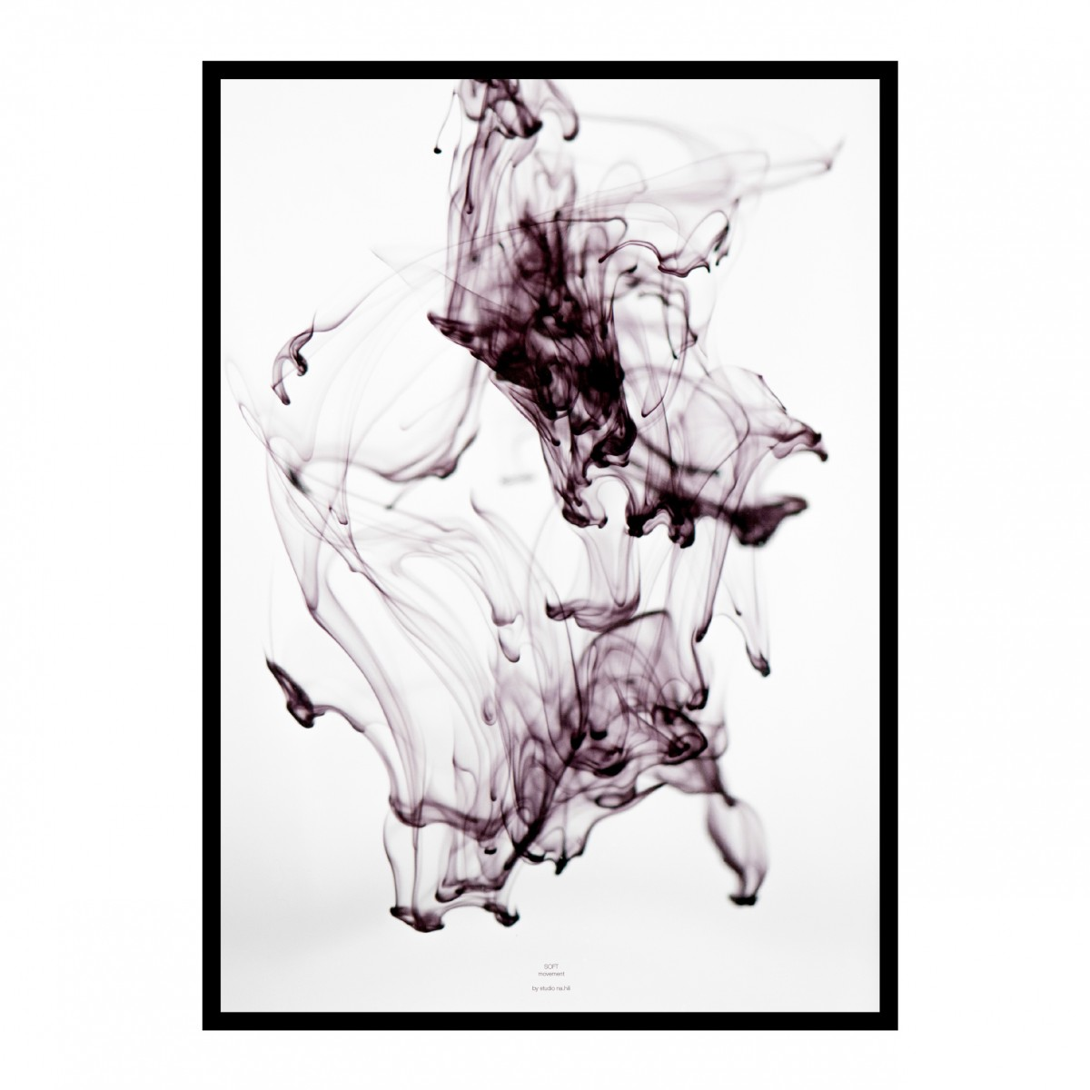 na.hili SOFT movement - purple Artprint A3, 50x70, A1 Poster