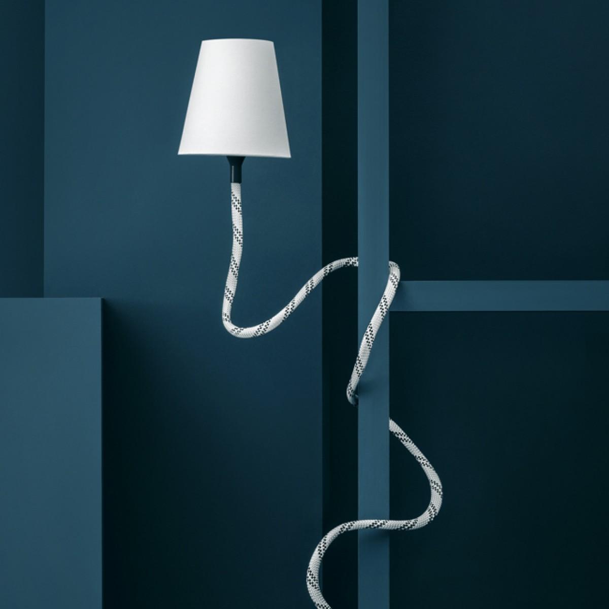 son of nils Climbing Lamp (blau/rot / weiss)