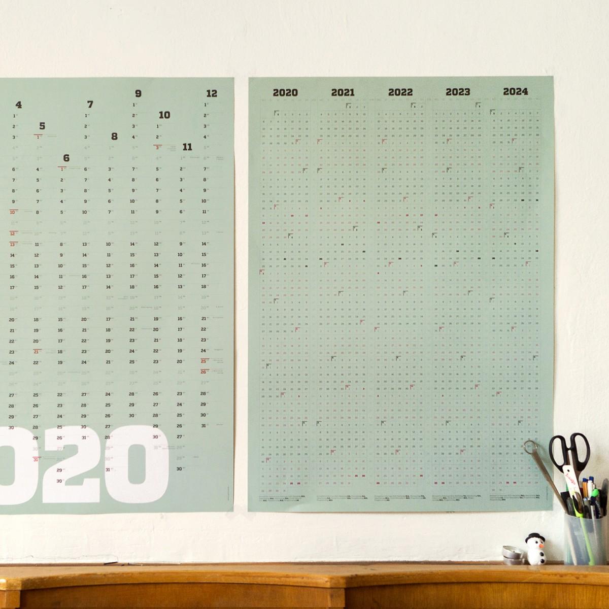 sperlingB _ Kalender 2020_A1-Poster_Wandkalender_sperlingB