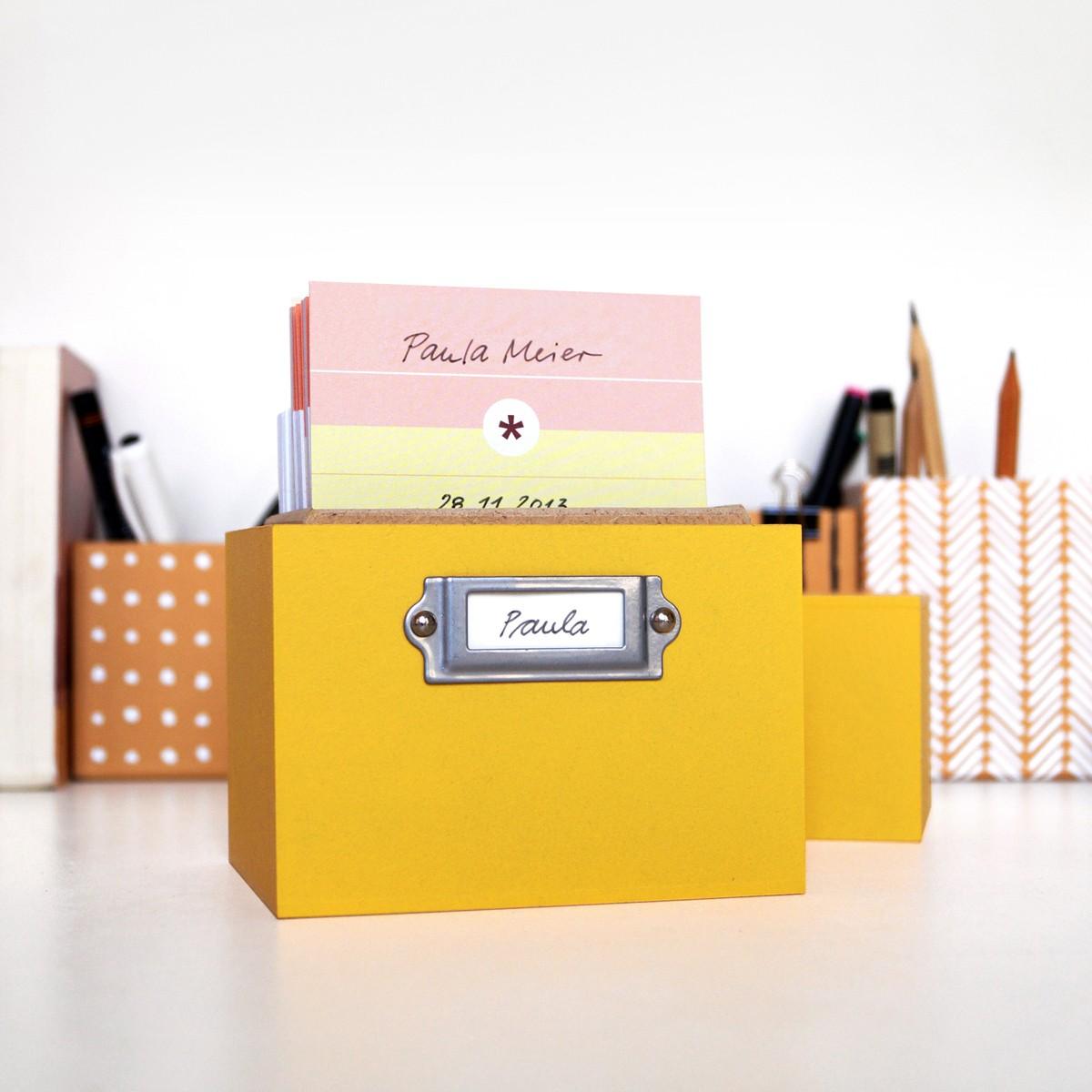 sperlingB – schönekindertagebox, safrangelb, Babyalbum, Erinnerungsbox