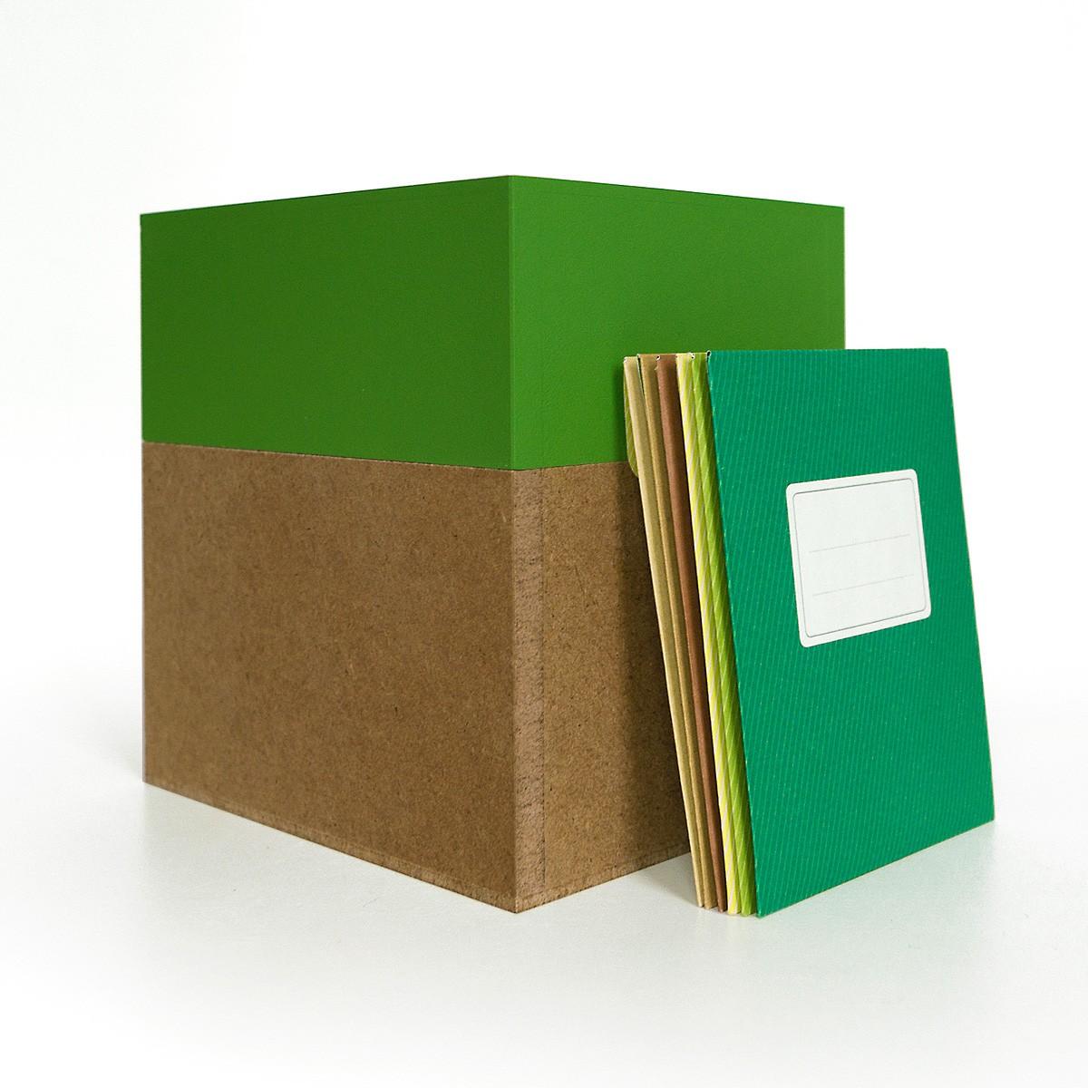 sperlingbB – Samentüten-Box, maigrün, Sammelbox mit Samentüten, Geschenk für Gärtner