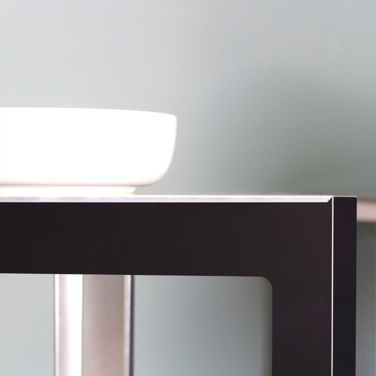 Tisc Beistelltisch, Aluminium eloxiert, Hellen Westerhof