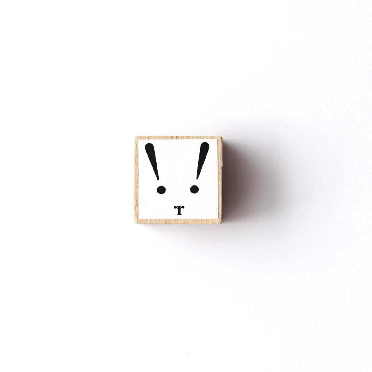 """sonst noch was? Stempel """"Typo-Bunny"""""""