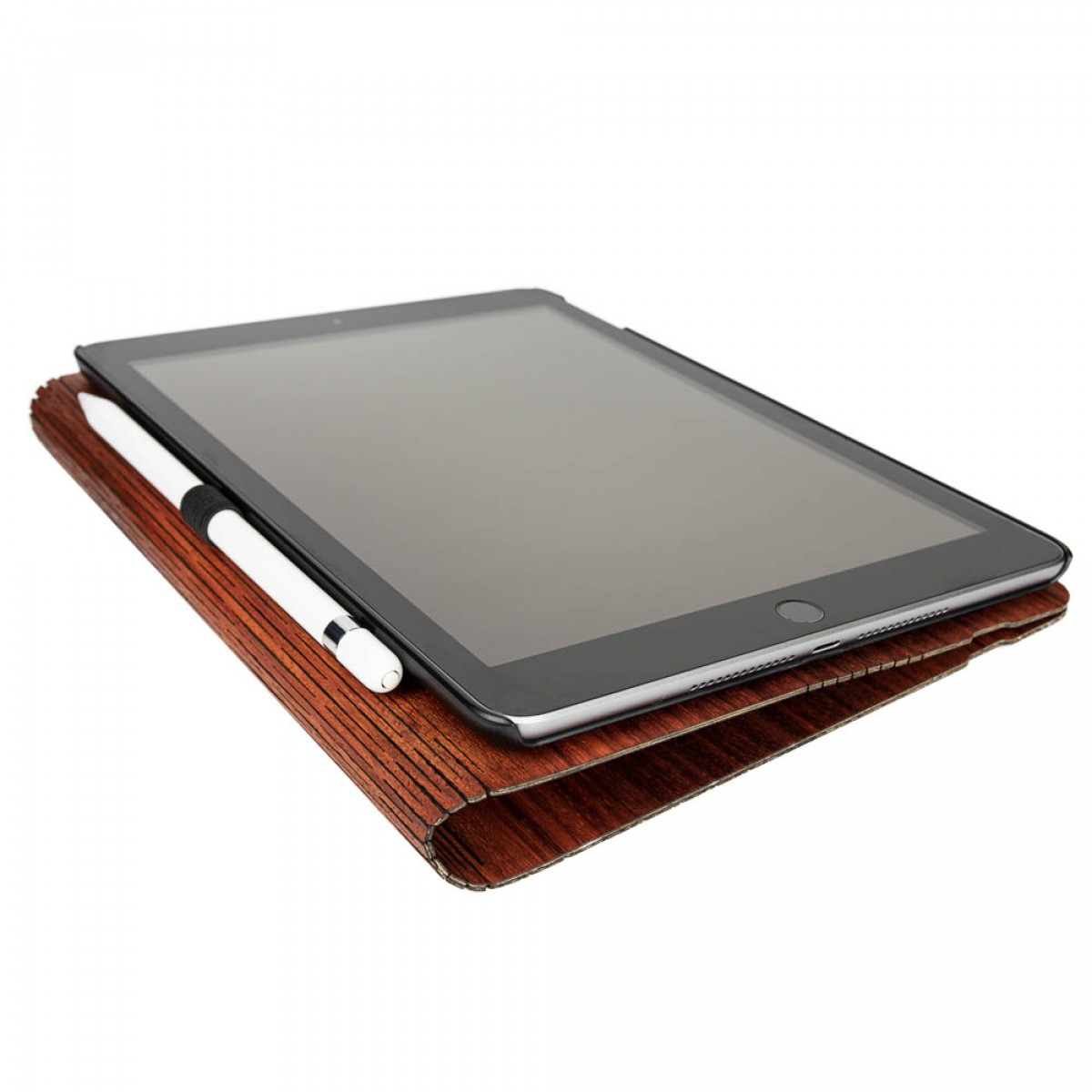 JUNGHOLZ Design WoodCase, Tablet, Padouk, iPad 5.& 6. Generation