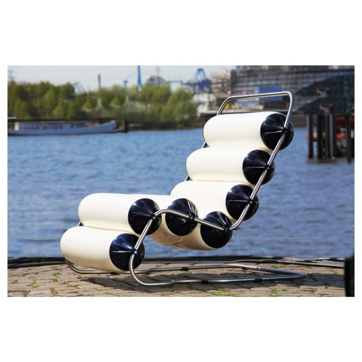 Ambientshop Swing-Air XXl-Lounge Freischwinger