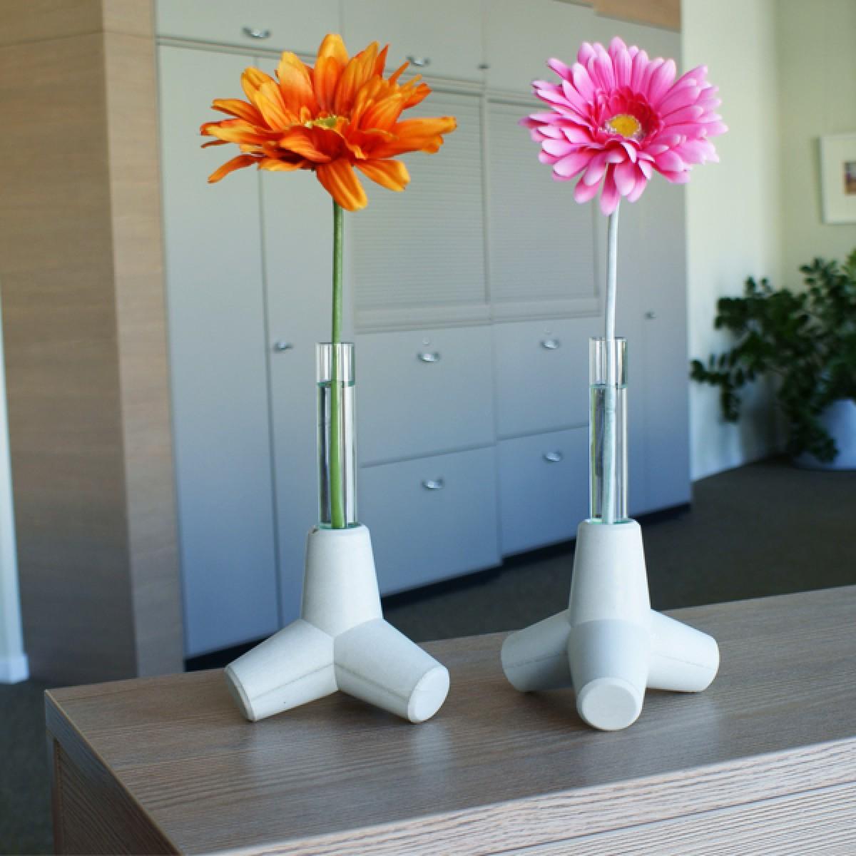 2er Set Sylpo - Kerzenhalter, Vase & Küstenschutz