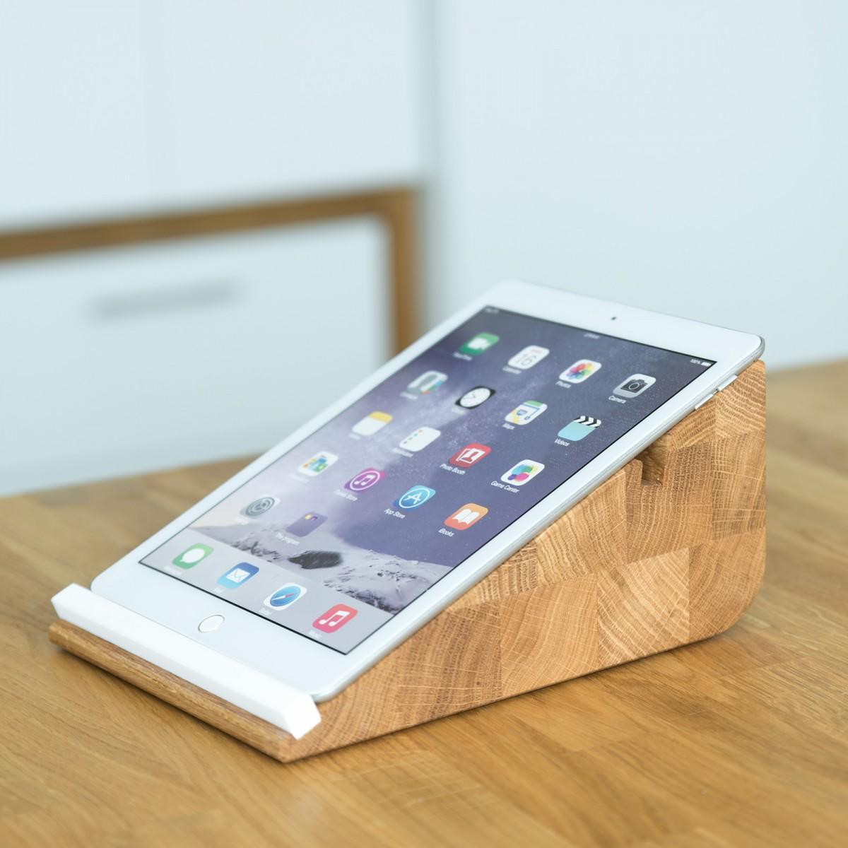 Tablet Halter tablojdo 10, iPad Halter aus Holz | Tablet Halterung 10 Zoll | Holzbutiq