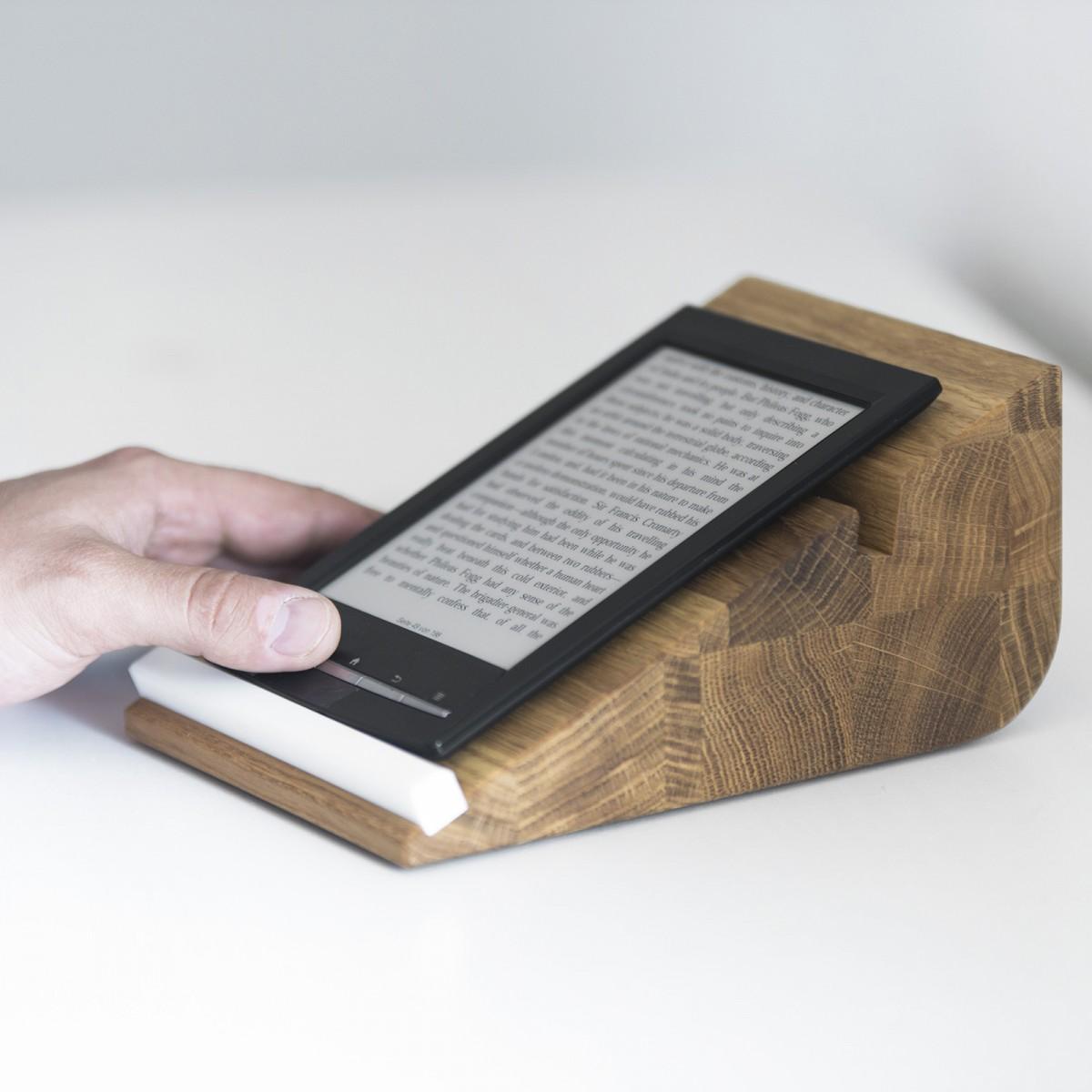 tablet halter tablojdo 8 ipad halter aus holz tablet halterung 8 zoll holzbutiq. Black Bedroom Furniture Sets. Home Design Ideas