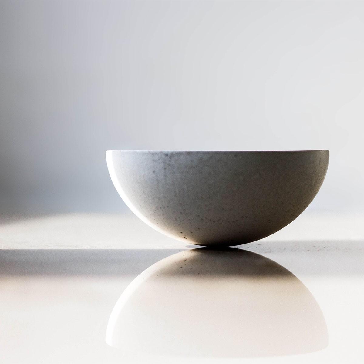 Teelichthalter Teelicht Ovisproducts No. 01 aus Beton