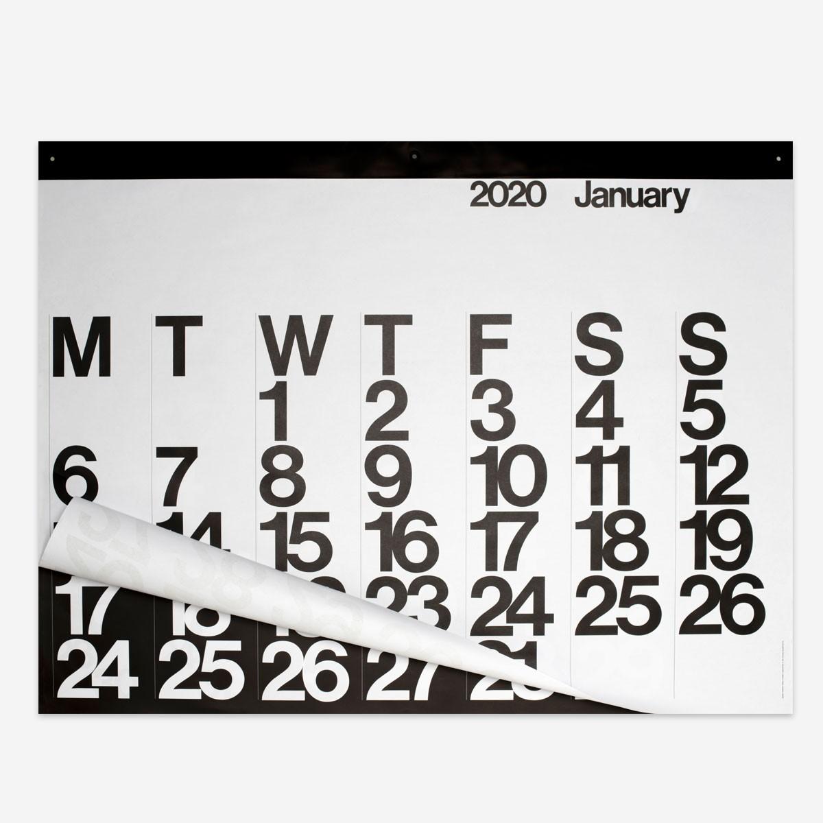 The Stendig Calendar 2020 – rikiki. Grafik & Produkt