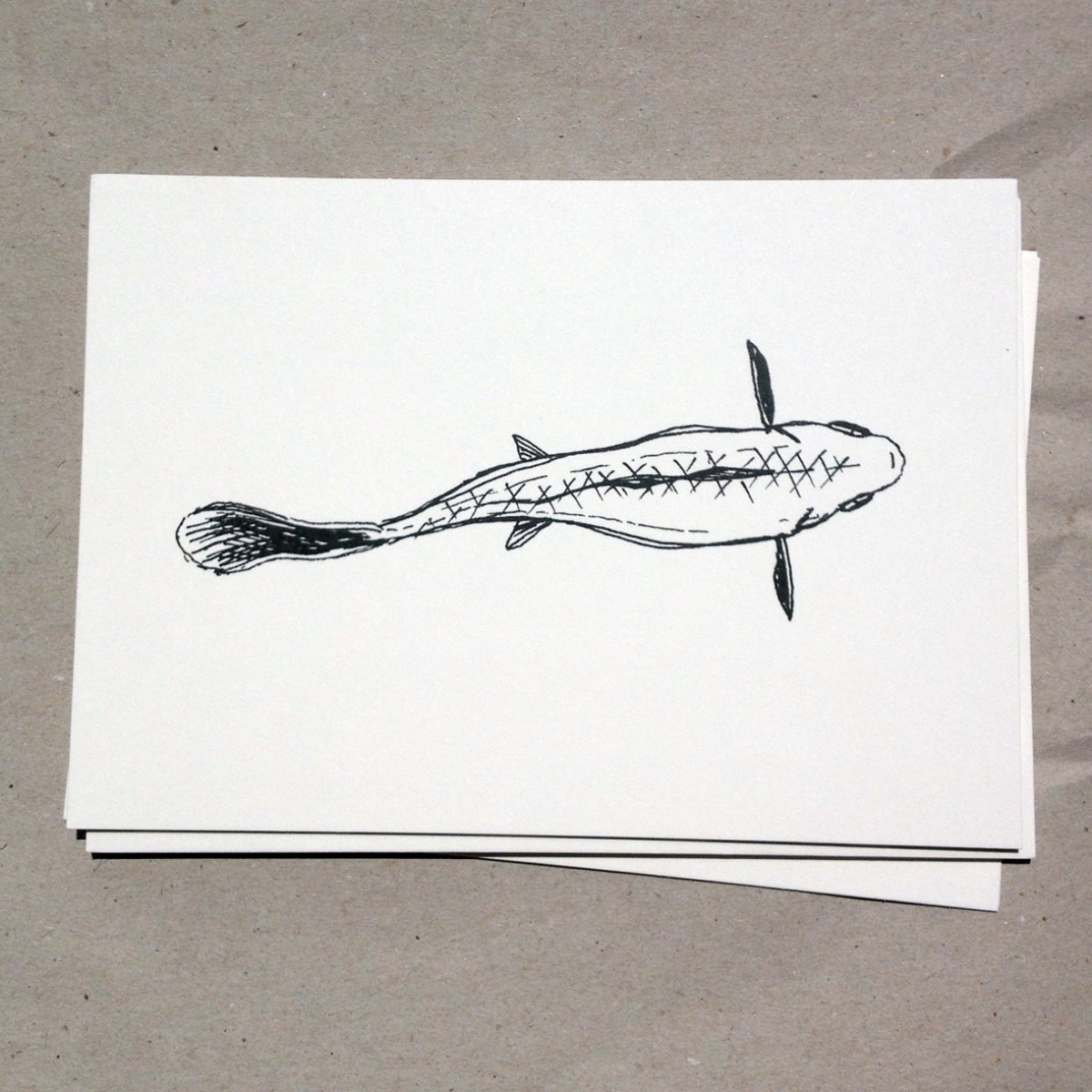 eleven fishy cards
