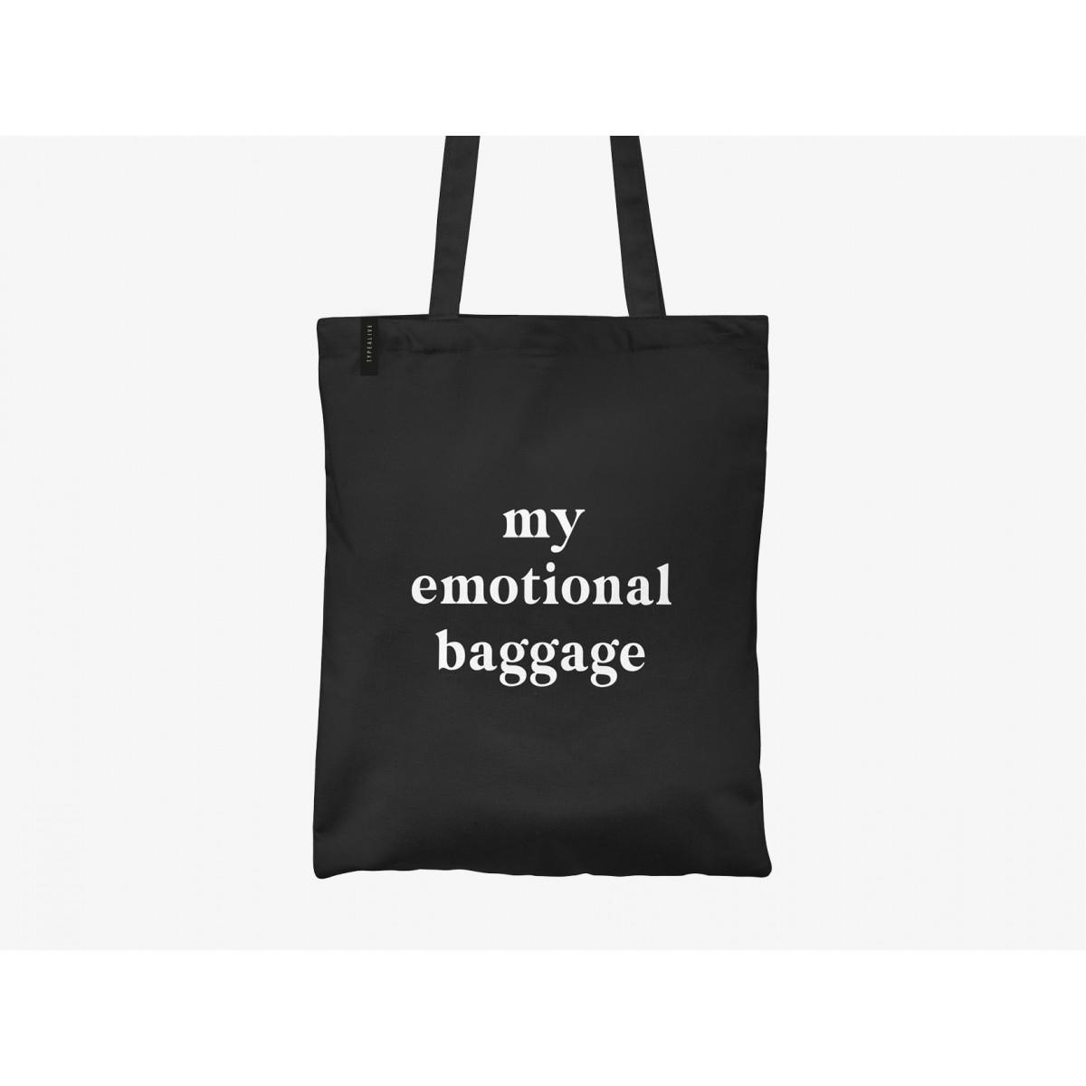 typealive / Baumwolltasche / Emotional Baggage